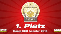 Beste SEO Agentur Deutschlands - Award Winner