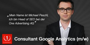 Consultant Google Analytics (m/w)