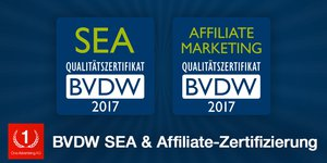 BVDW-Zertifikate SEA + Affiliate