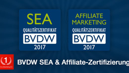 BVDW-Zertifizierung SEA + Affiliate Marketing