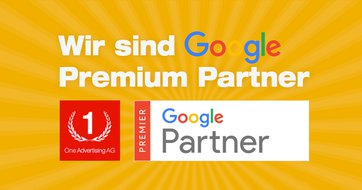 Die One Advertising AG ist Google Premium Partner