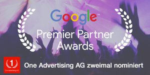 Google Premier Partner Awards 2016 Nominierung