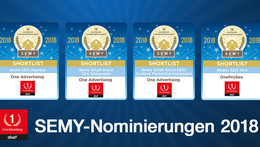 Presseinformation: 4x nominiert für SEMY Awards 2018