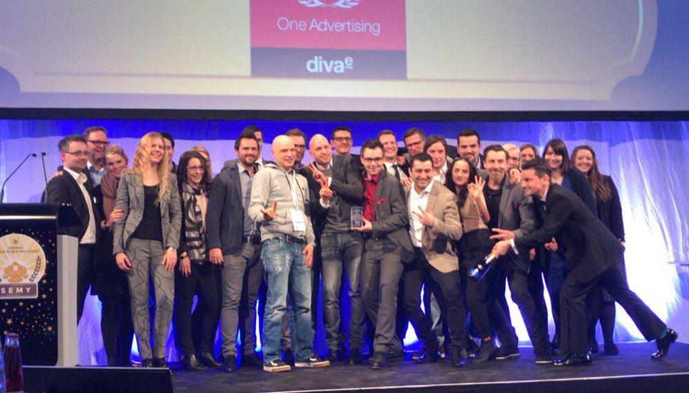 One Advertising gewinnt den SEMIY Award 2018 für die Small Sized SEO/Content Marketing-Kampagne.