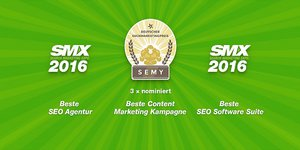 SEMY Award 2016 Nominierung