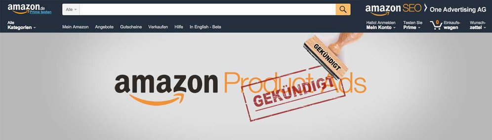 Amazon stellt Product Ads ein
