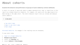 Analytics: Kohortenanalyse mit Google Analytics