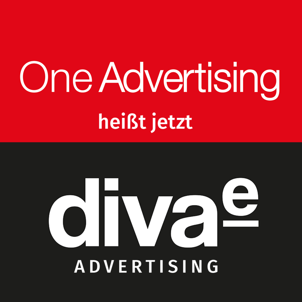 Aus One Advertising wird diva-e advertising