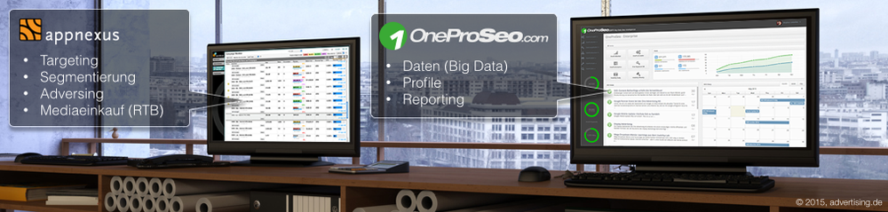 OnePro Business Intelligence Data Suite und AppNexus-Plattform