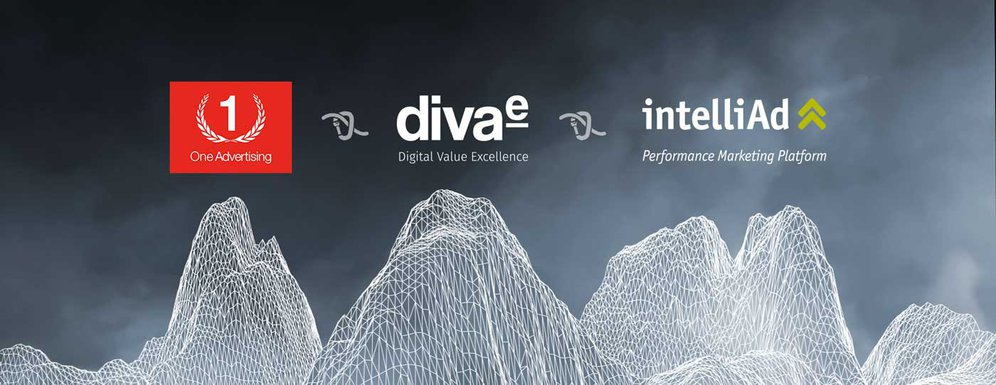 diva-e, One Advertising und intelliAd Media besiegeln Partnerschaft