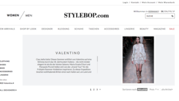 Stylebop.com Onlineshop - One Advertising AG