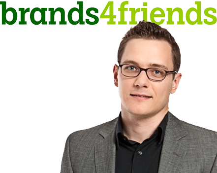 Nikolay Abrosov, Head of Marketing and Customer Insights von Brands4friends/eBay Inc