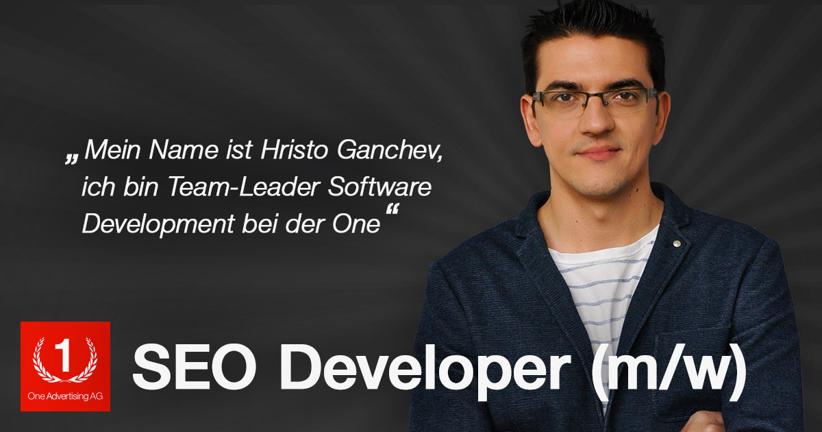SEO JOB in München - SEO: Developer (m/w)