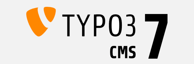 TYPO3 CMS Version 7