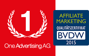One Advertising AG erhält Affiliate Marketing Qualitätszertifikat
