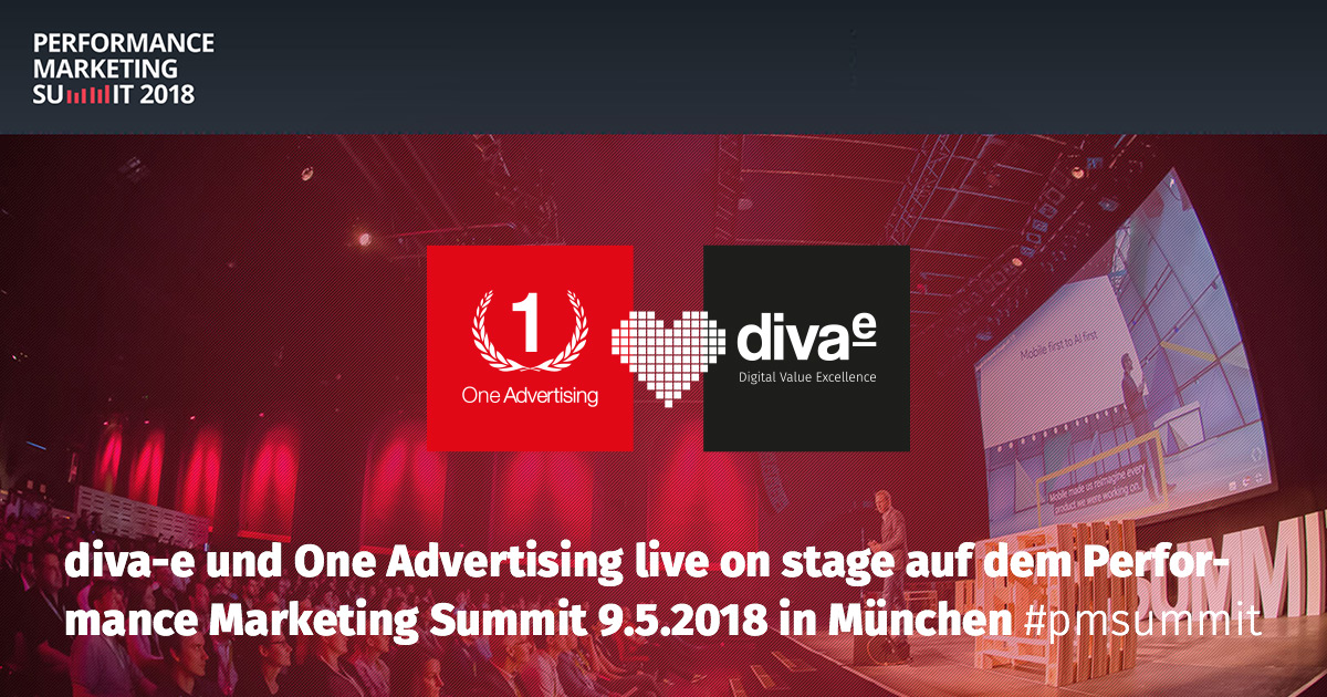 Performance Marketing Summit 2018: Wir sind live on stage!