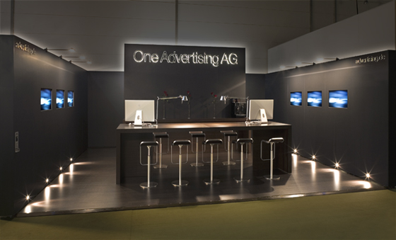 Messestand One Advertising AG auf der OMD 2007