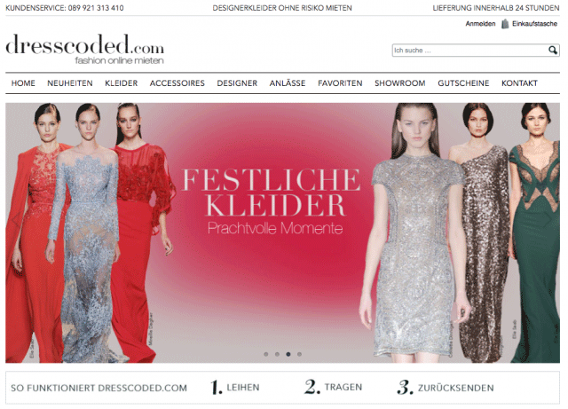 One Commerce GmbH realisiert modernen E-Shop für dresscoded.com