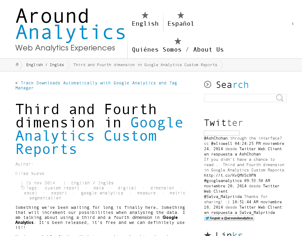 Analytics: Dritte Dimension in Google Analytics