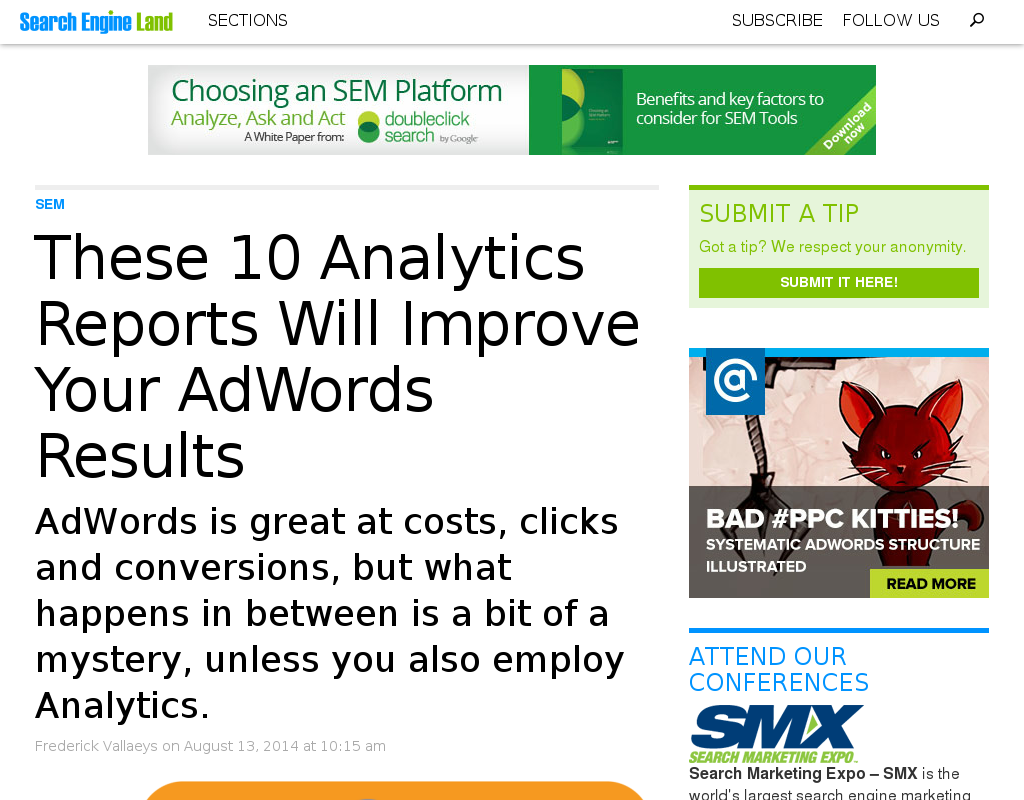 10 google Analytics Report