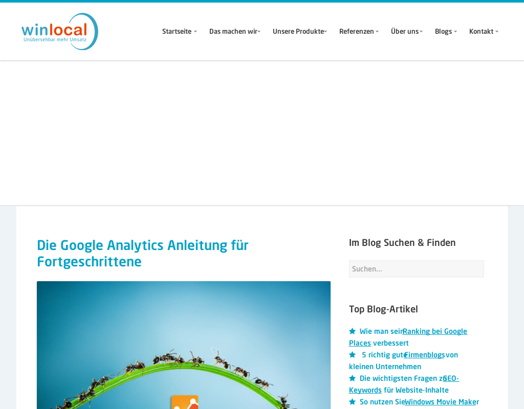SEO: Bessere Rankings mit Google Analytics