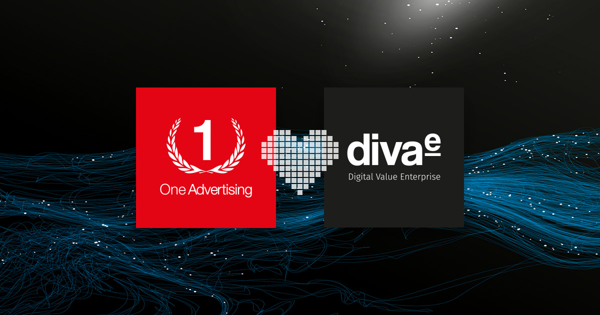 One Advertising wird Teil der diva-e Digital Value Enterprise