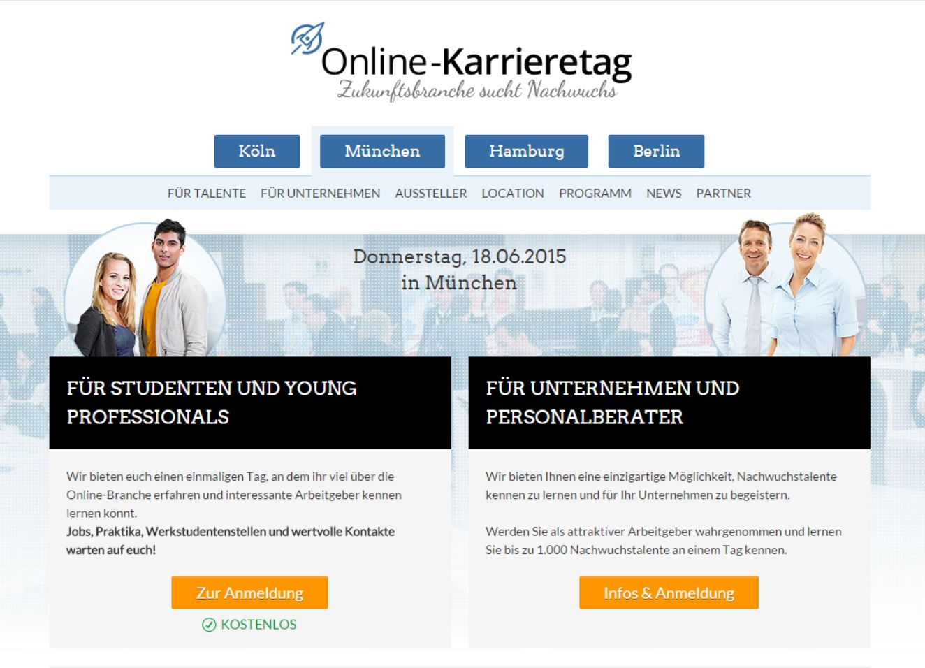 Online-Karrieretag: One Advertising AG ist dabei